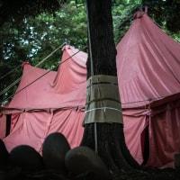 【May_28】紅テントの神々しさ