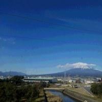 関東の空と富士山