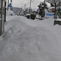 除雪に行きました
