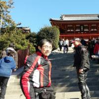 今月の「第三日曜ツーリング」は鶴岡八幡神社!