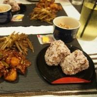 STAUB パリパリチキン/里芋のピリ辛炒め