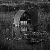 水没した別荘の夢?