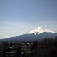 子育て終了(やれやれ!も楽しかった) 暖かい卒業日和 富士山も綺麗