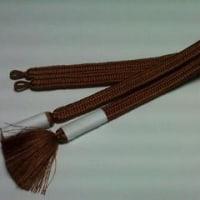 【 7月の組紐 】~紳士用羽織紐/完成~