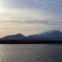 大山と天気予報