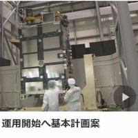 本日早朝NHKニュース:日本版GPS運用開始へ基本計画案