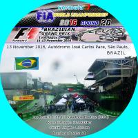 2016 F1 BRAZIL Grand Prix ラベル