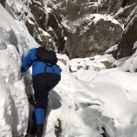 久々の雪山テン泊:新ルート?