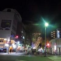 静岡市内のライトアップ♪