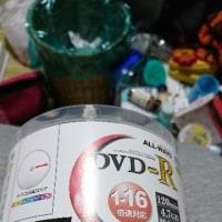 AmazonでDVDRを購入しました