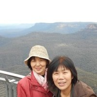 i囲碁と世界遺産ブルーマウンテンズ国立公園シーニックワールド眺望(オーストラリア)