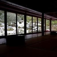 旧竹林院の雪景色