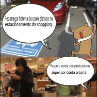ポルトガル語の4コマ漫画
