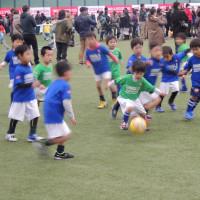 サッカー部 サッカーフェスティバル2014 ユニクロサッカーキッズ!in西武ドーム