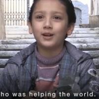 元に戻ればいいのに……シリアの子供たちが語る戦争