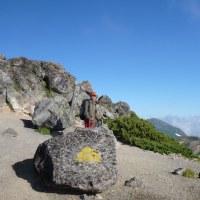 銀泉台~赤岳~白雲岳