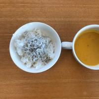 今日の離乳食(朝御飯)【173日目】