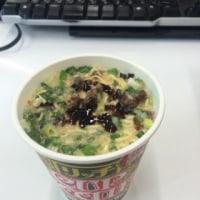 カップヌードル リッチ・無臭にんにく卵黄 牛テールスープ味