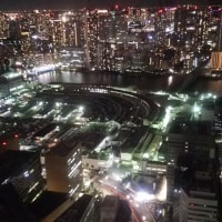 築地市場の夜景