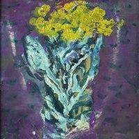 長谷川利行 「黄色い花」