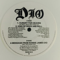 Dio / Hungry For Heaven