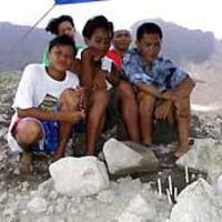フィリピン地滑り:災害から1カ月 募る喪失感と不安