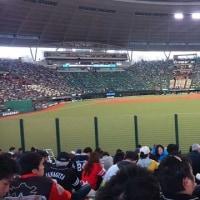 野球観戦に (会田)
