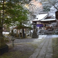五所駒滝神社から真壁富士