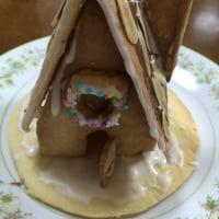 お菓子の家完成(^^)