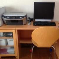 PCデスク、超簡単DIY