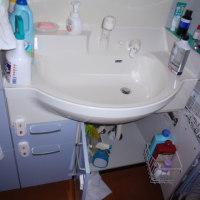 洗面台から水漏れが!(ロッキーの節電大作戦 番外編)