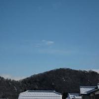 朝の青空は何処へ。