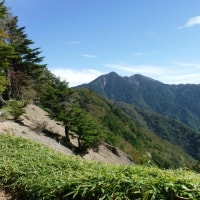 2016.10.12 南ア南深部 池口岳 日帰り登山