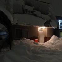 雪割り始めています♪
