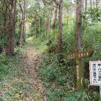2016年11月29日(火) 三重県多気町の「歴史の散歩道」、近津長谷城跡(城山)を歩く