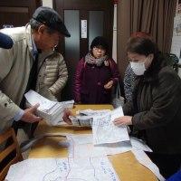 本日宣伝日和!  小中一貫校教育について学習会を行います。