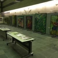 山本千代さんの作品展に行って来ました