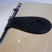 手帳にミドリのベルトシールをつけました