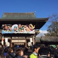 寒川神社への初詣!
