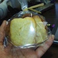 りんごジャム入りのアイスボックスクッキー