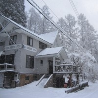 本格的な雪景色に変わりました