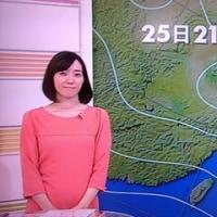 朝は中村慶子アナで