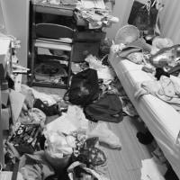 汚部屋洋室少し進歩