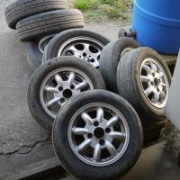 タイヤ交換も大事な農作業の1つです!