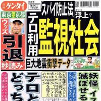 共謀罪の狙いはテロ対策ではない!日本国民を監視するためのシステムである!!