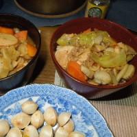 減塩食をおいしく だしで味しっかり出す/チゲ煮込みうどんと野菜たっぷりチゲとん汁。
