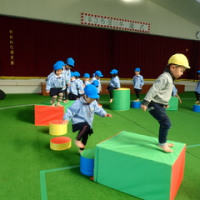 あお・すみれ 3歳児 体育館活動☆