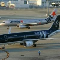 相棒ジェット現る中部国際空港