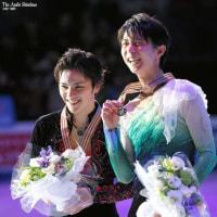 フィギュアスケート 世界選手権 男子 羽生選手1位&宇野選手2位 おめでとう!