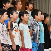 麻績小学校の音楽会